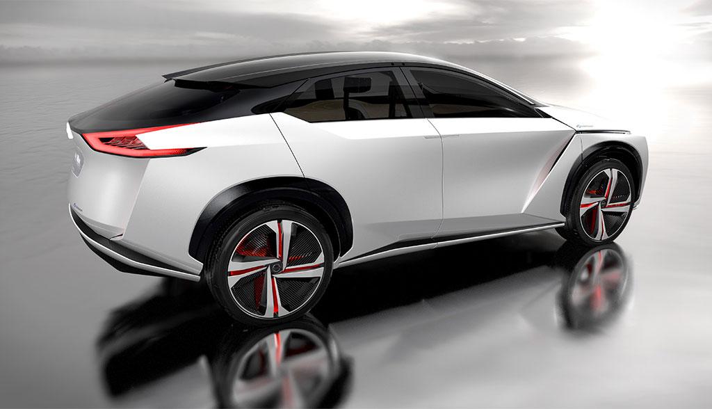 Nissan zeigt Elektroauto-SUV IMx (Bilder & Video ...