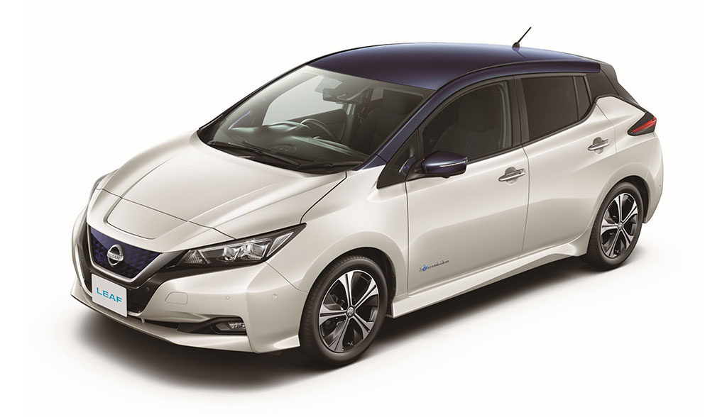 nissan leaf 2 zero edition kostet ab euro. Black Bedroom Furniture Sets. Home Design Ideas