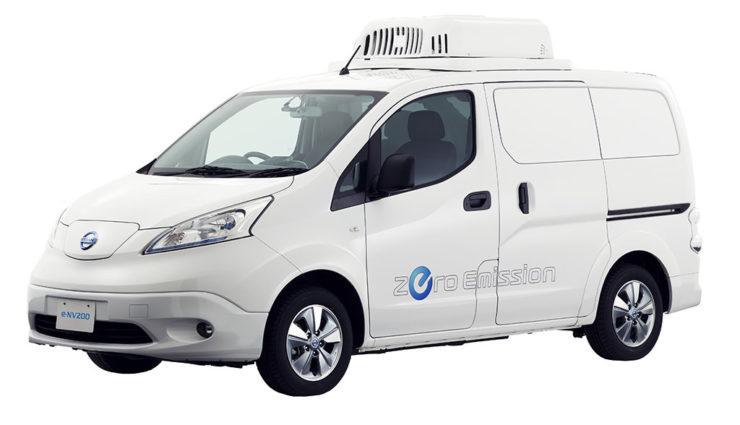 Nissan baut Elektro-Transporter zum mobilen Kühlschrank um - ecomento.de