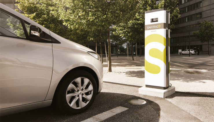 Smatrics-Elektroauto-Reichweite