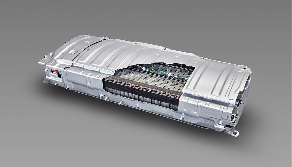 Toyota-Feststoff-Batterie-Elektroauto