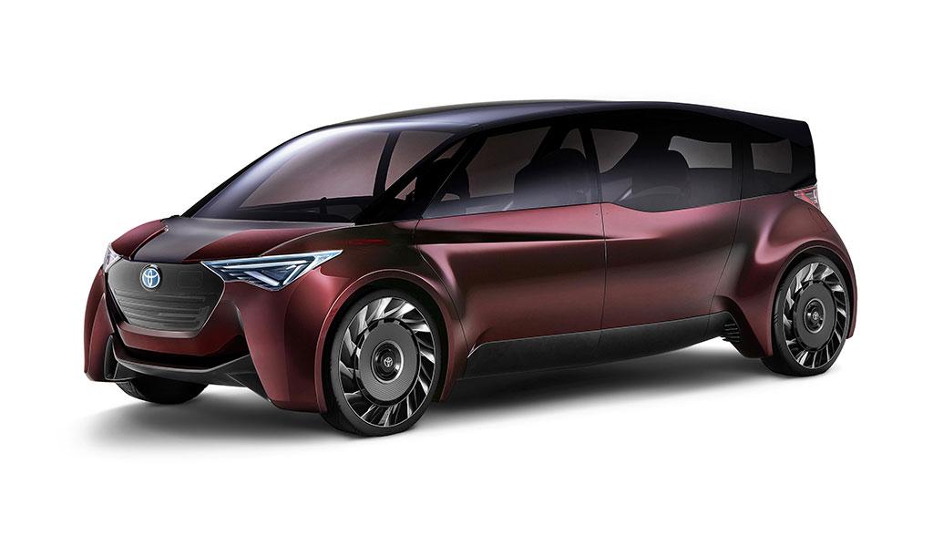 Toyota Wasserstoff-Elektroauto Fine-Comfort Ride (Bilder) - ecomento.de