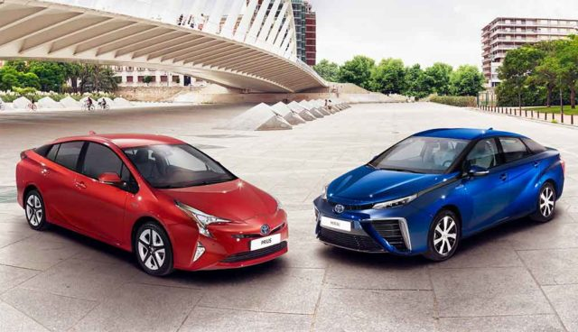 Toyota: Wasserstoff-Elektroautos und Hybride kosten bald gleichviel