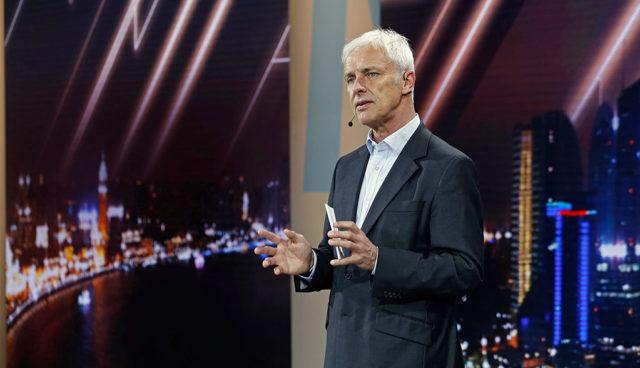 Volkswagen-Chef Müller über StreetScooter, Tesla und die Lage der deutschen Autoindustrie