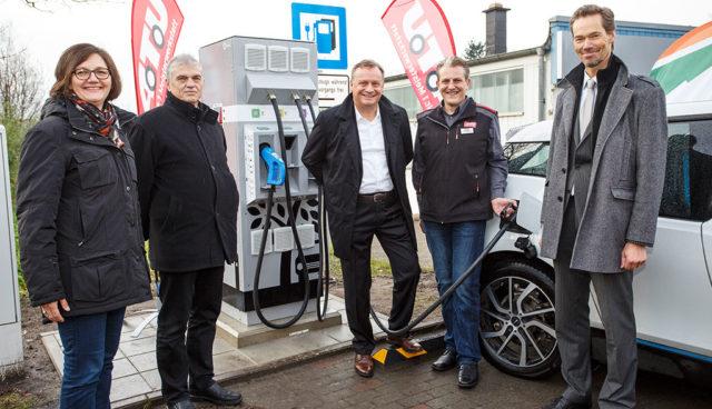 40 neue Elektroauto-Schnelllader für A.T.U