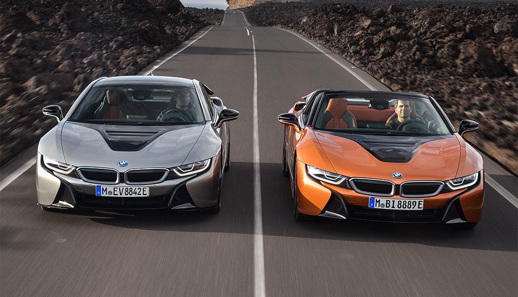 BMW i8 erhält mehr Elektro-Reichweite und Roadster-Version