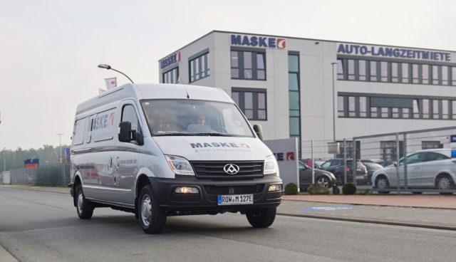 Elektro-Transporter-SAIC-Maxus