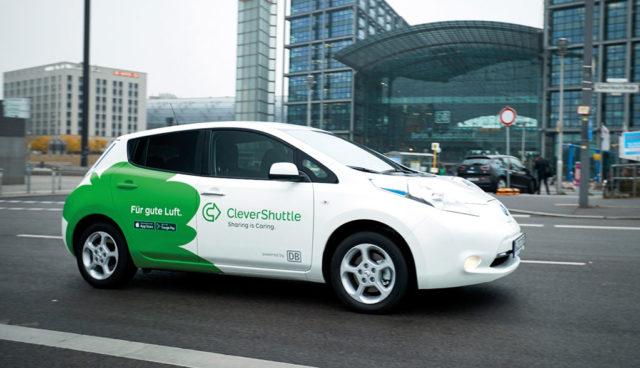 Elektroauto-Fahrdienst CleverShuttle expandiert – bis zu 10 neue Städte