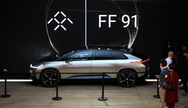Elektroauto-Faraday-Future