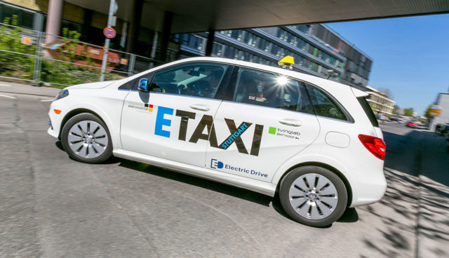 Taxifahrer wollen Staatshilfe für Elektroauto-Umstieg