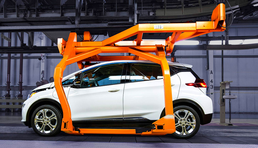 Elektroauto-Offensive bei General Motors: 1 Million Stromer ab 2026 ...