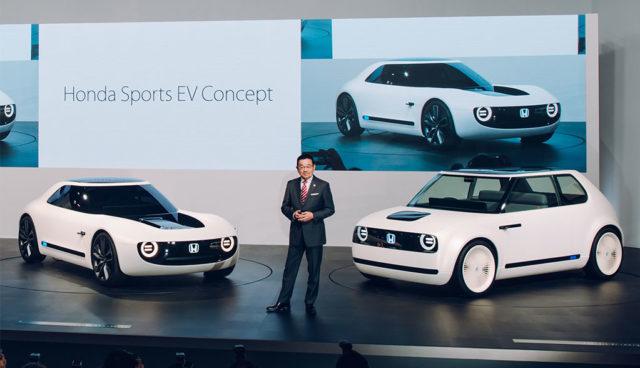 """Honda will Elektroautos mit """"freundlichen Gesichtern"""" bauen"""