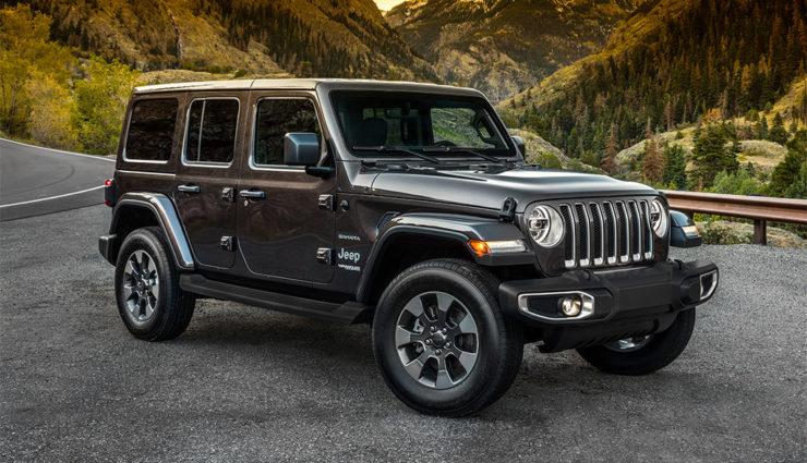 Jeep Wrangler zukünftig auch als Teilzeit-Elektroauto ...