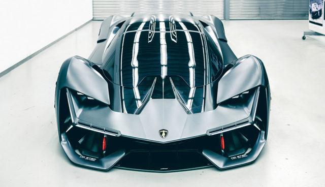 Terzo Millennio: Lamborghini zeigt Elektroauto-Supersportler