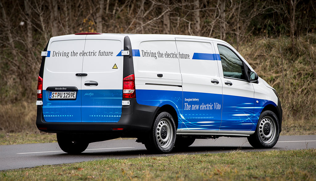 Mercedes-Benz elektrifiziert alle Transporter-Baureihen