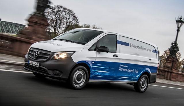 So will Mercedes bei Elektro-Transportern aufholen
