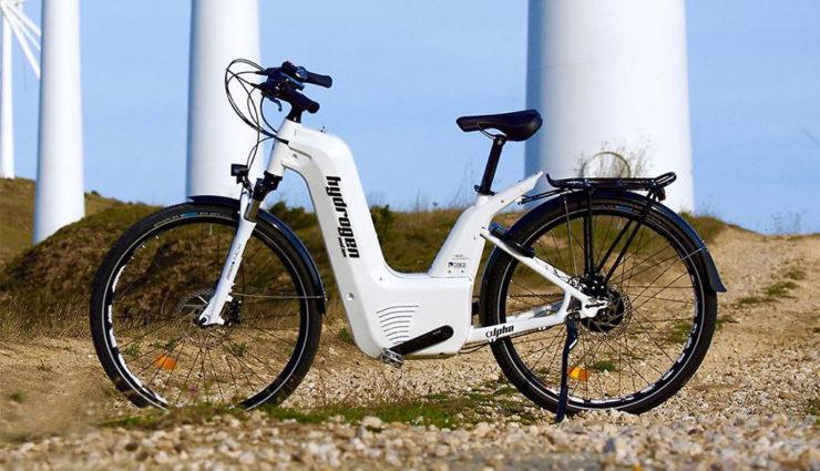 alpha 2.0 e-Bike: Franzosen bauen Wasserstoff-Fahrrad