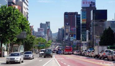 Seoul-Elektrobusse