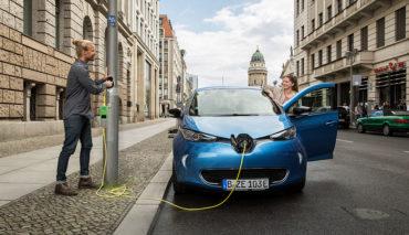 Siemens-Ubitricity-Elektroauto-Ladestation