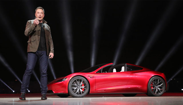 Tesla-Chef: Neuer Roadster fährt mit Raketentechnik