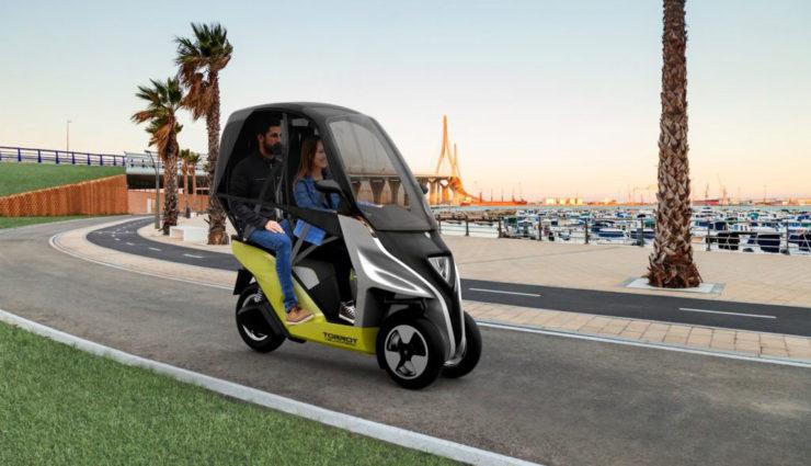 Kommt Ende 2018: Elektro-Roller Torrot Velocipedo mit 150 Kilometern Reichweite