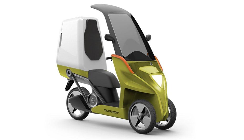 Torrot-velocipedo-Elektroroller