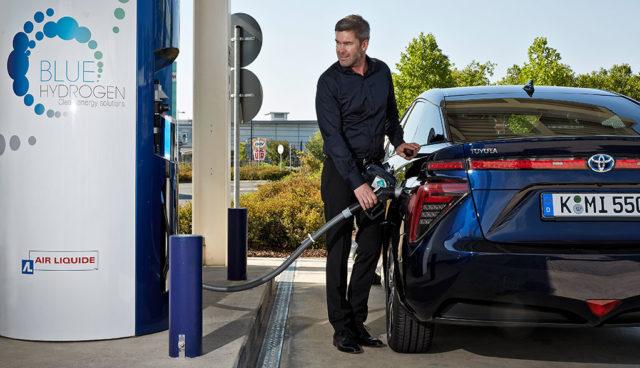 """Toyota """"glaubt fest an die Zukunft von Wasserstoff"""""""