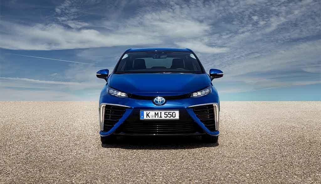 Toyota-Wasserstoff-Elektroauto