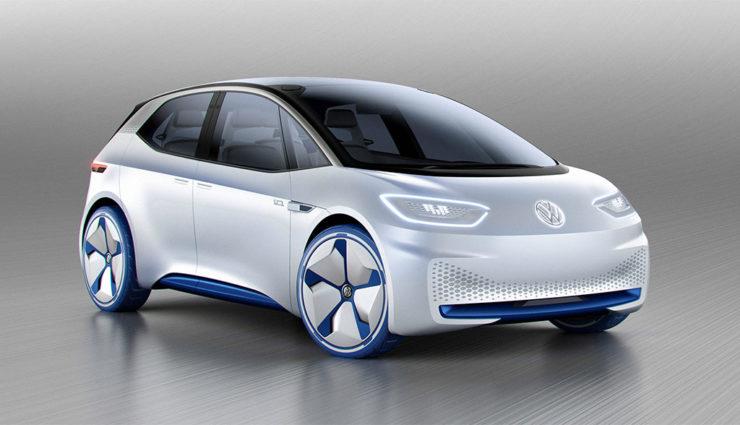 """VW plant """"Golf des Elektrozeitalters"""""""