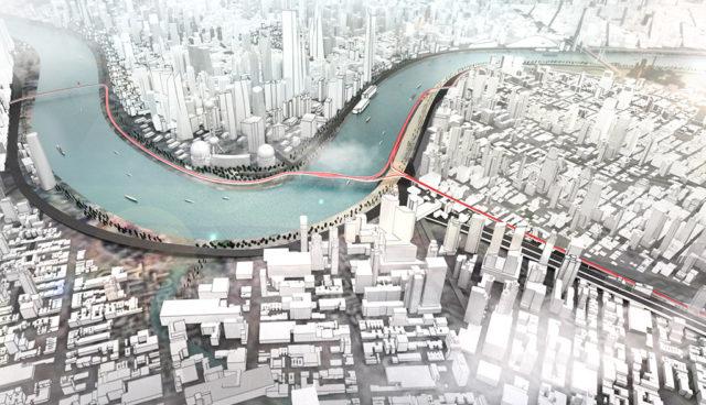Vision E³ Way: BMW zeigt Highway für Elektro-Zweiräder