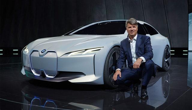 """BMW-Chef: """"An E-Mobilität lassen wir uns messen. Dafür stehe ich."""""""