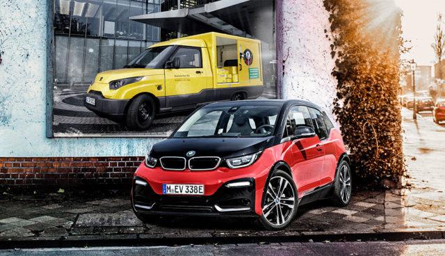 Elektroauto-Transporter StreetScooter fährt künftig auch mit BMW-Batterien