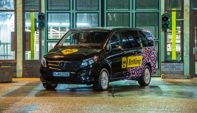ViaVan: On-Demand-Ridesharing mit Elektroautos für Berlin