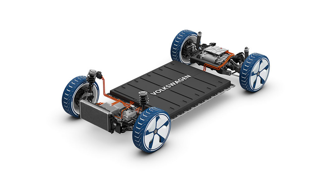 Elektroauto-Batterieproduktion