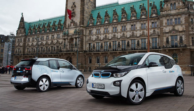 DriveNow stockt Hamburger Elektroauto-Flotte auf – 550 Stromer bis 2019 möglich