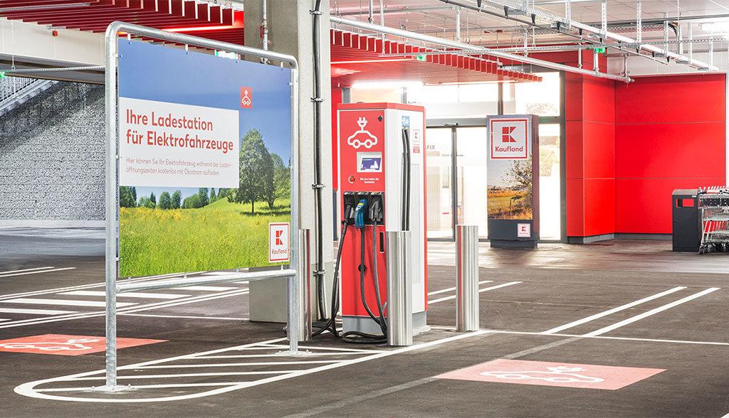 Kaufland-installiert-100-Elektroauto-Ladestationen