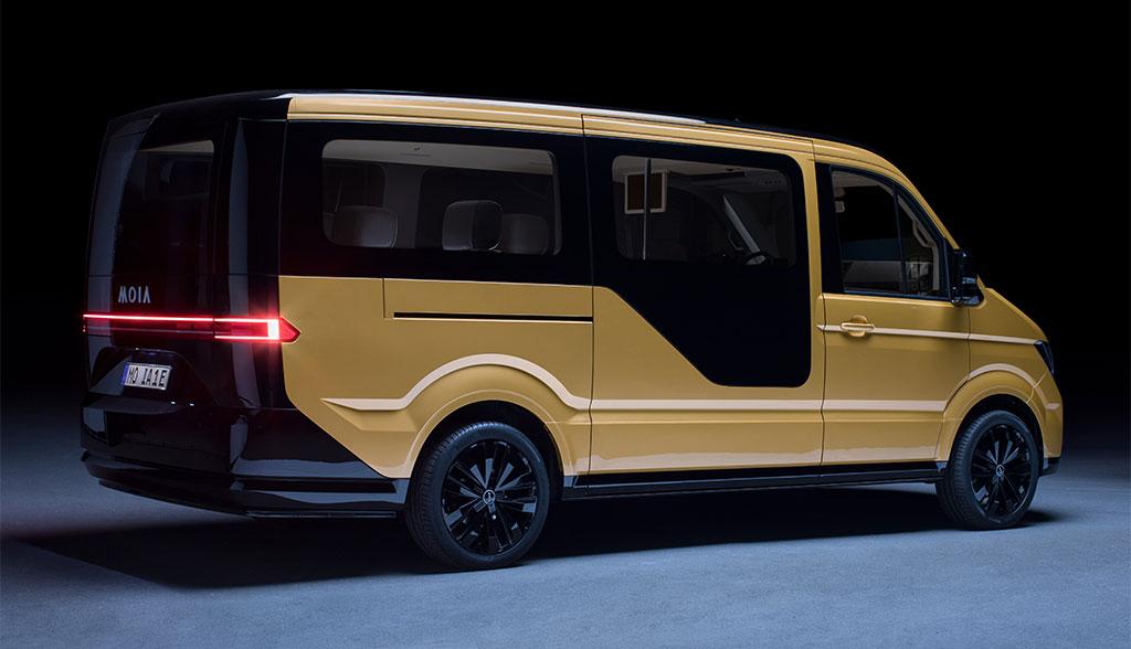 Volkswagen-Marke Moia stellt vollelektrisches Sammeltaxi vor
