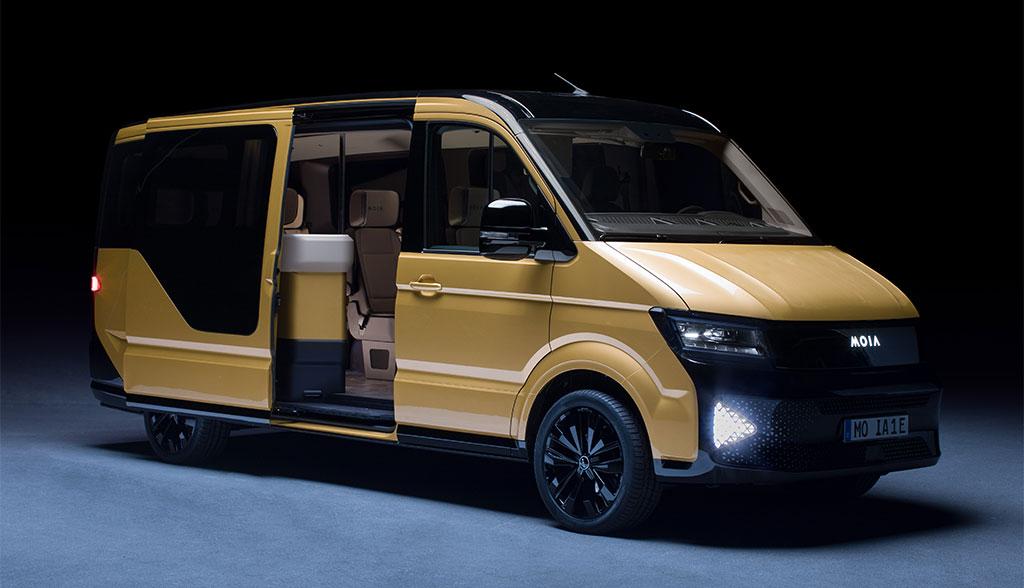 VW MOIA stellt Elektro-Transporter für Ride Pooling vor