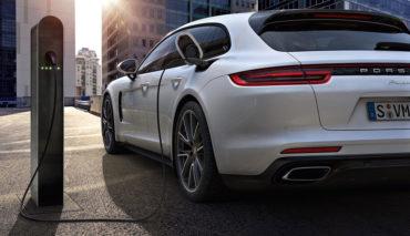 Porsche-Plug-in-Hybridauto-Batterien