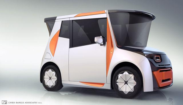 Redspace REDS: Neues Elektroauto-Konzept speziell für die Stadt