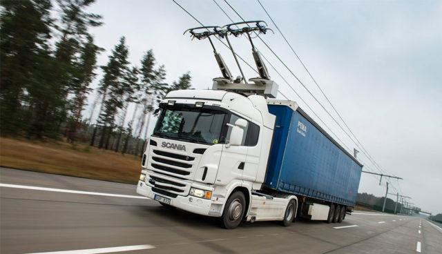 Siemens-Oberleitungs-Elektro-Lkw