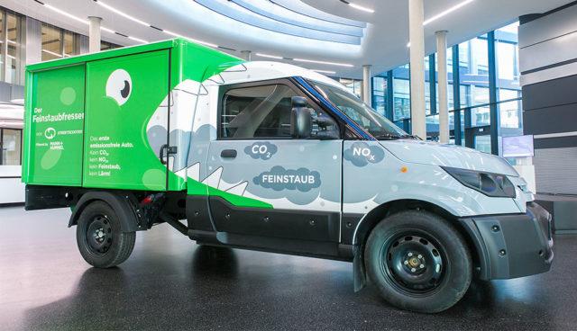 "StreetScooter stellt ""völlig emissionsneutralen"" Elektro-Transporter vor"