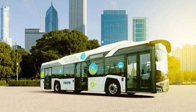 Voith setzt auf Elektromobilität: Umsatz in dreistelliger Millionenhöhe im Visier