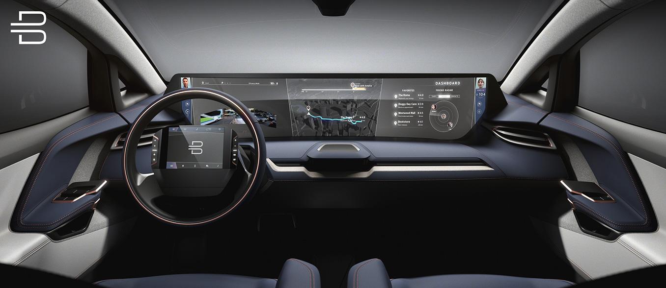 Byton-Elektroauto-Innenraum