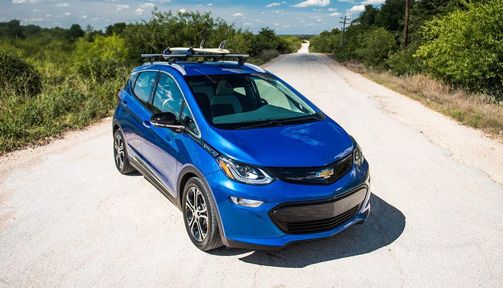 Kompakt Elektroauto Chevy Bolt Feiert Erstes Volles Produktionsjahr