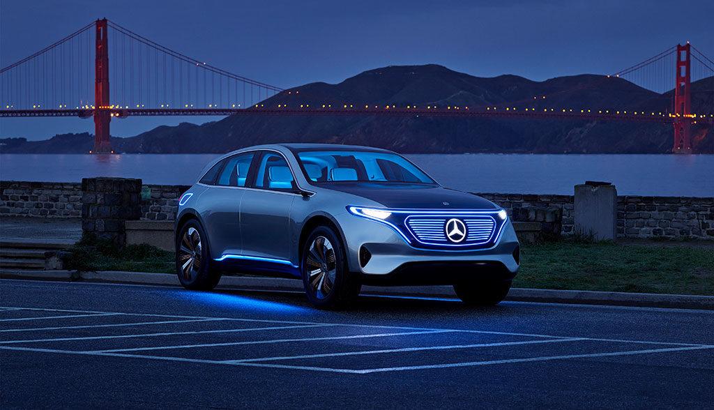 Mercedes-Elektroauto-Batterie