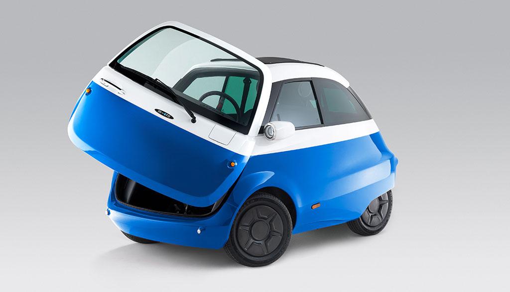 Schweizer Elektroauto Microlino kommt \