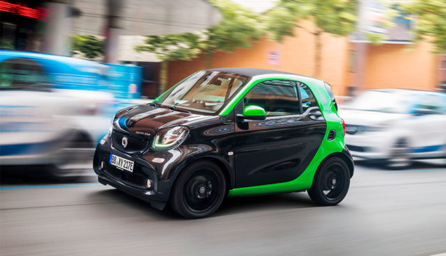 Smart-Elektroauto-Lieferzeit