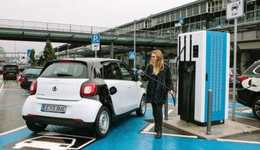 Stuttgart-Airport-Elektroauto-Ladestation