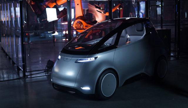 Uniti-Elektroauto